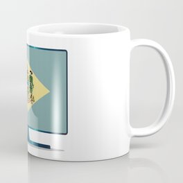 Delaware Flag TV Coffee Mug