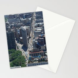 Flatiron Building NYC From Above Stationery Cards