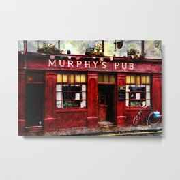 Murphys Pub, Dingle Metal Print
