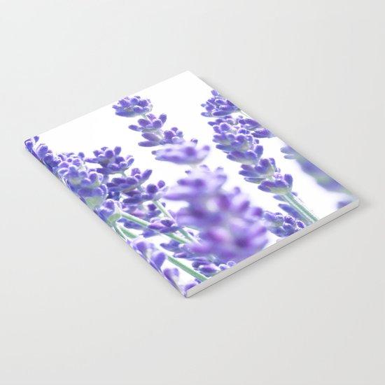 Fresh Lavender #1 #decor #art #society6 Notebook