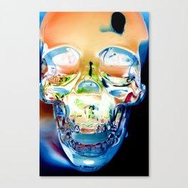 Invert Skull  Canvas Print