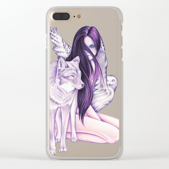 Silvermoon Clear iPhone Case