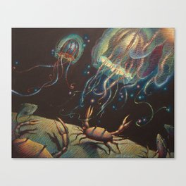 """Light Show"" Canvas Print"