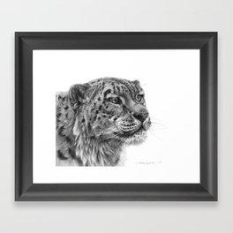 Snow Leopard G095 Framed Art Print