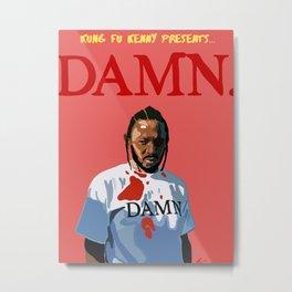 Kendrick Lamar - DAMN. Metal Print