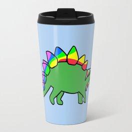 Stegocorn (Unicorn Stegosaurus) Travel Mug