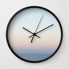 November Sunset Wall Clock