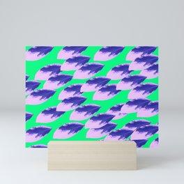 The Limeade Leaves Mini Art Print