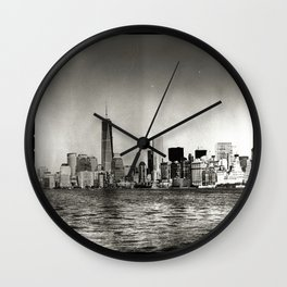 Lower Manhattan, New York City Wall Clock