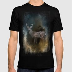 Shiloh Buck Mens Fitted Tee MEDIUM Black