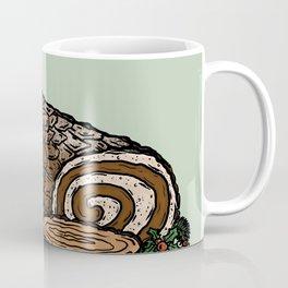 Y is for Yule Log Coffee Mug