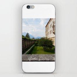 View Atop of Castello del Buonconsiglio iPhone Skin