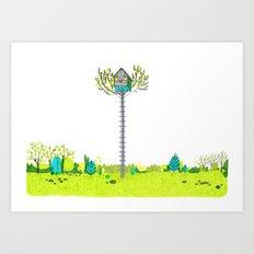 Moonrise Kingdom Fanart Art Print