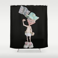 prince Shower Curtains featuring Prince Charles  by Christine's heART