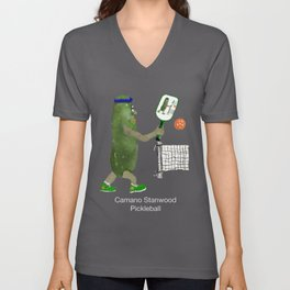 Pickleball Is Fun! Unisex V-Neck