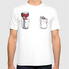 a little of Gravity Falls Mens Fitted Tee White SMALL