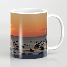 Romantic Winter Sunset Coffee Mug
