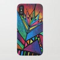 alien iPhone & iPod Cases featuring ALIEN by Deyana Deco