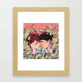 Leave Framed Art Print