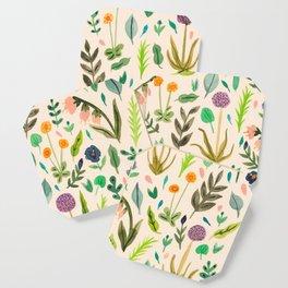 Colours from the garden Coaster