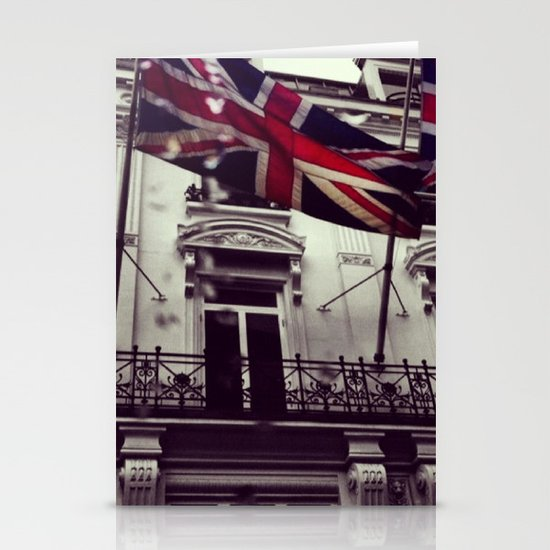 Raise the flag Stationery Cards
