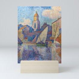 """Paul Signac """"Le clocher de Saint-Tropez"""" Mini Art Print"""