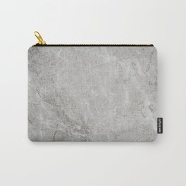 Rustic White Pattern (Black and White) Carry-All Pouch