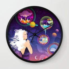 Wonderworlds Wall Clock