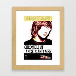 Chronicle of Angels and Men Front Cover Art Framed Art Print
