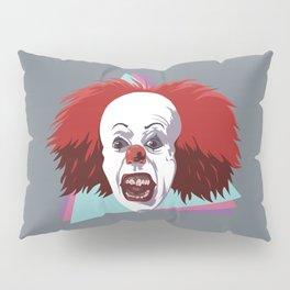 Evil clown it halloween Pillow Sham