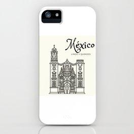 México lindo iPhone Case