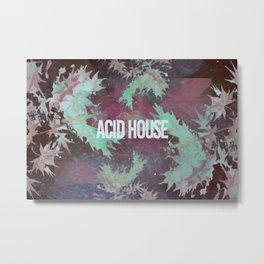 Acid House III Metal Print