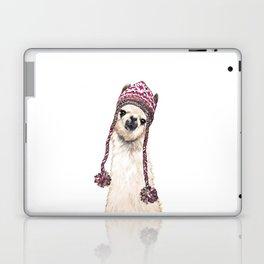 The Llama with Hat Laptop & iPad Skin
