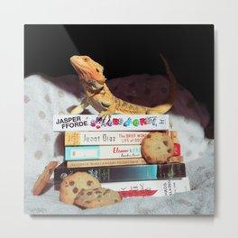 Mayli + Cookies Metal Print