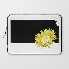 Kansas Silhouette Laptop Sleeve