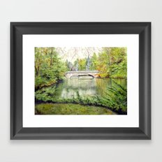 Racine, Fall'13 Framed Art Print