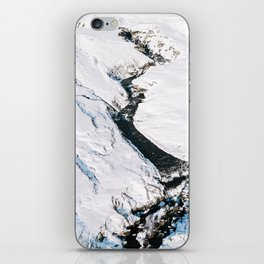 River in winter in Iceland - Landscape Photography iPhone Skin