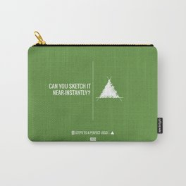 Perfect Logo Series (3 of 11) - Green Carry-All Pouch