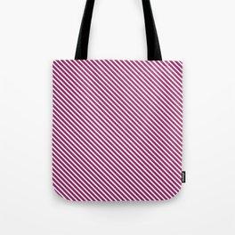 Festival Fuchsia Stripe Tote Bag