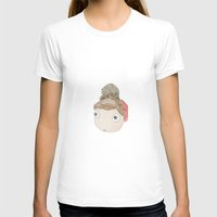 ponyo T-shirts featuring DekaDeka & DekaSan (Ponyo and Salamander) by Masaki IINUMA