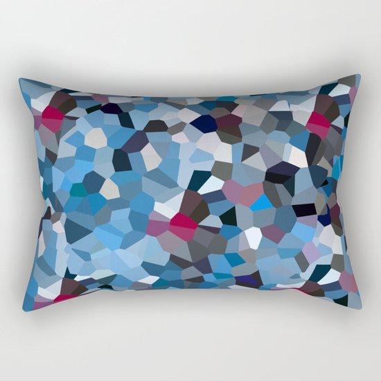 Sapphire Periwinkle Blue Moon Love Rectangular Pillow