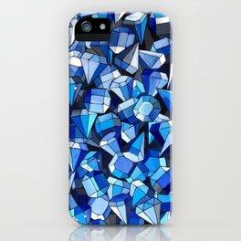 Fond Bleu iPhone Case