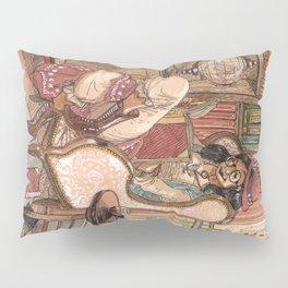 Le Salon Rouge Pillow Sham
