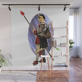 Painter Knights - Dalì Wall Mural