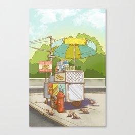 Street Meat Canvas Print