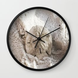 Sand Dollar Wall Clock