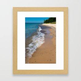Lake_Michigan Beach, Charlevoix - II Framed Art Print