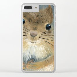 Last Nut for my Squirrel Clear iPhone Case
