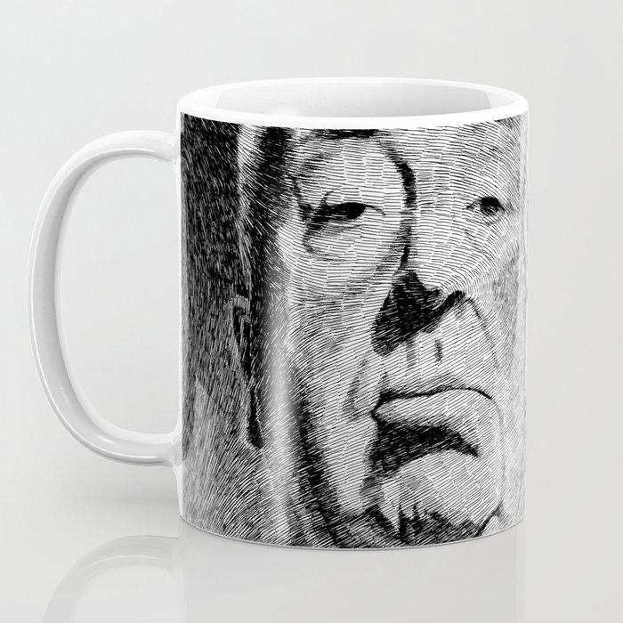 Fingerprint - Hitchcock Coffee Mug