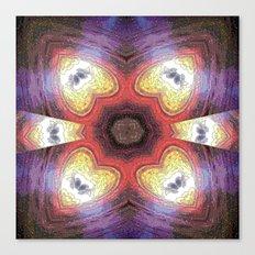 Internal Kaleidoscopic Daze- 7 Canvas Print